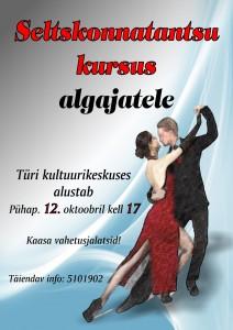 2014 tantsukursus