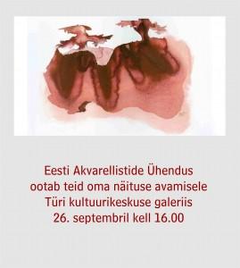 kutse näituse avamisele